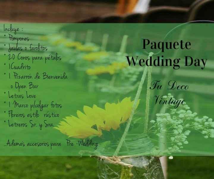 Wedding day - 1