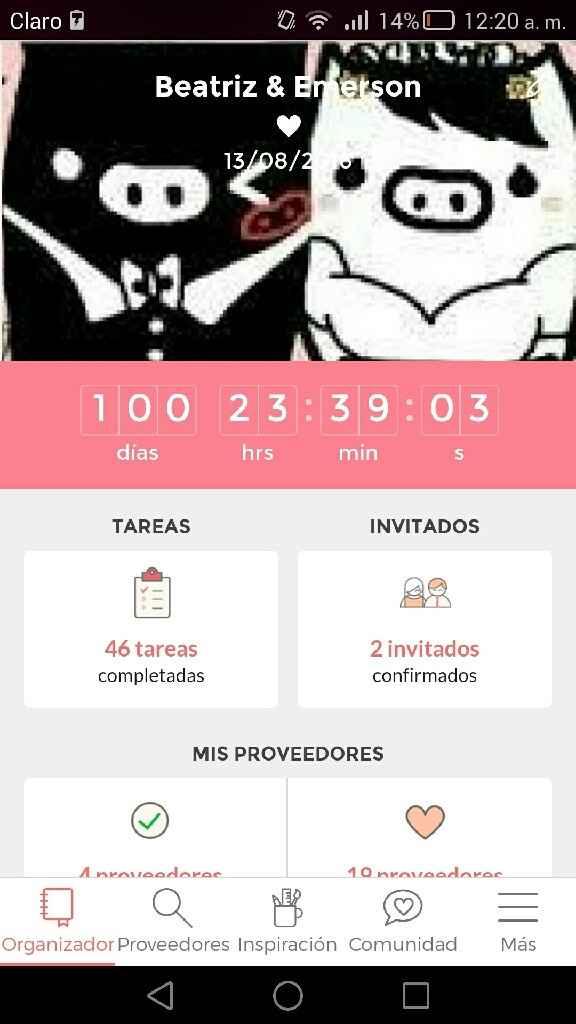Boda b&e : a 100 dias - 1