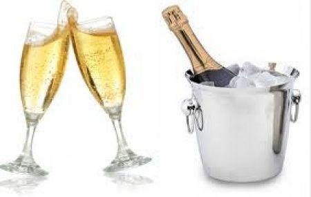 champagne para el brindis