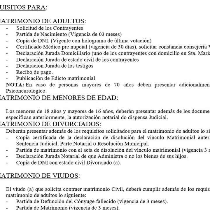 Requisitos - 1