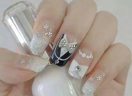 Manicure novias ,,,cuantos dias antes de la boda  y diseños - 2