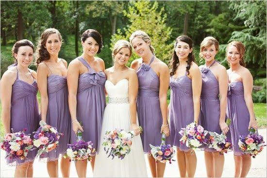 Tu boda en color lila bebé