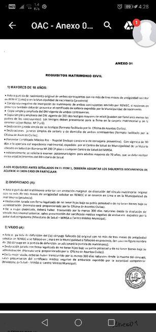 requisitos matrimonio civil -municipalidad de la victoria , lima - 1
