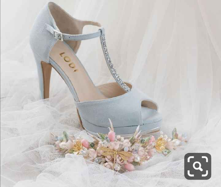 Mis zapatos de boda - 1