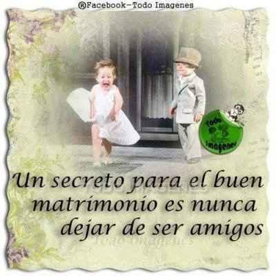 Aqui el secreto del éxito en el matrimonio - 1