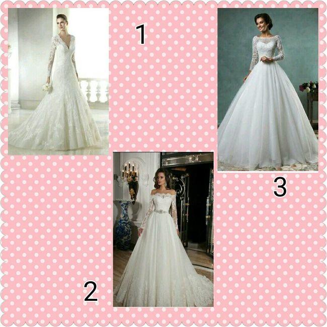 4 looks para novias de invierno. ¿Cuál prefieres? - 1