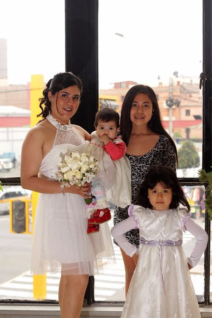 Con mis 3 princesas