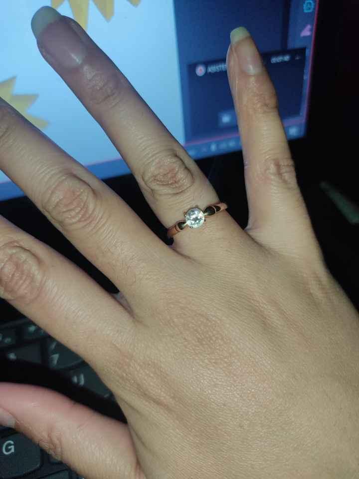 ¿Cuál de estos anillos de compromiso se parece al tuyo? - 1