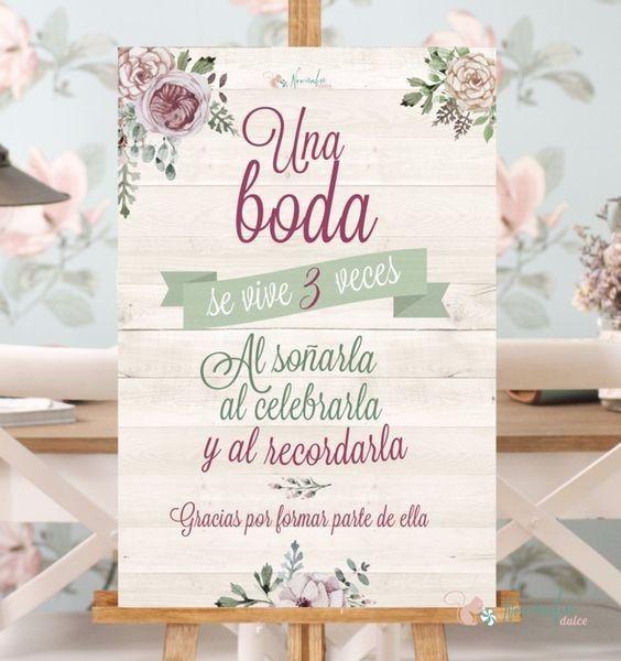 Frase Matrimonio Romano : Frases para carteles de boda