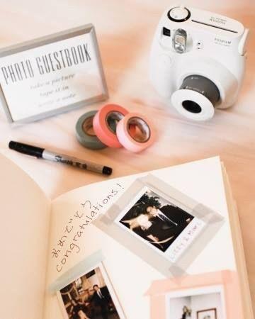 Polaroid - hermoso libro de invitados 1 a6106fc278