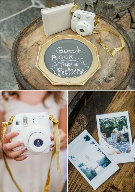 Polaroid - hermoso libro de invitados 2 0dd980f718
