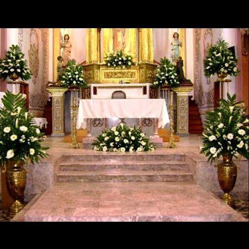 Matrimonio Catolico Y Adventista : Decoración de altares en iglesias