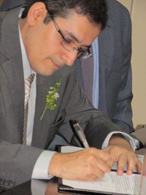 Nuestro Matrimonio Civil - Pedro & Emily - 7