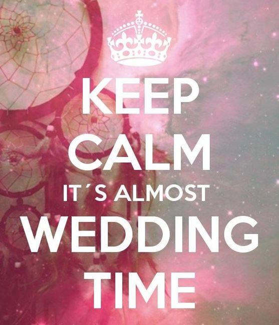 KEEP CALM WEDDING TIME