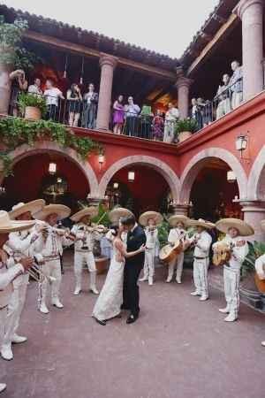 Mariachis en boda