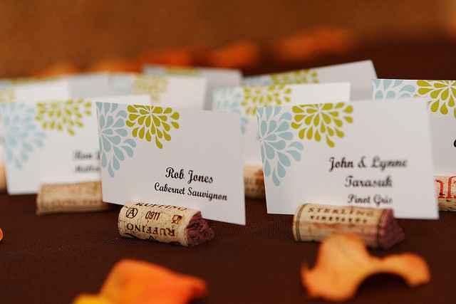 Inspiración para decorar con corchos el dia de tu boda! - 5
