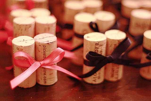 Inspiración para decorar con corchos el dia de tu boda! - 7