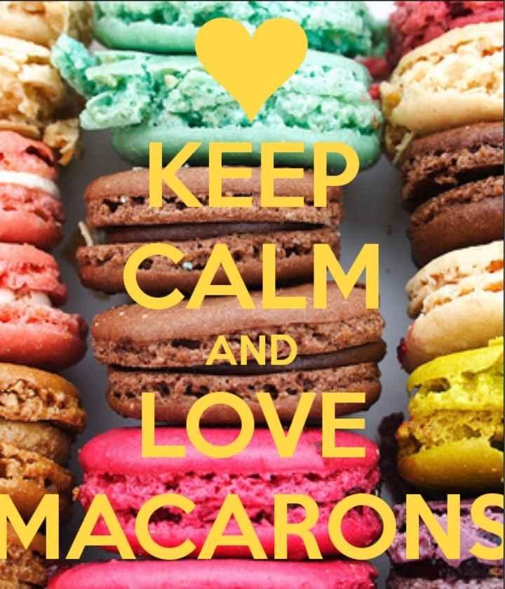 Macarons (dulces deliciosos) - 1