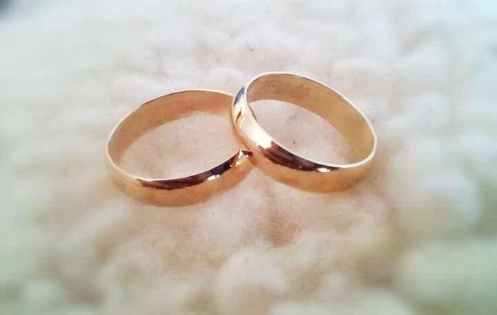 Tu anillo nupcial, ¿como sera? - 1