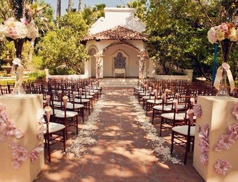 decoración matrimonio al aire libre