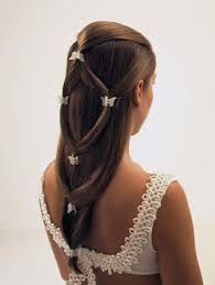 Peinados de boda liso
