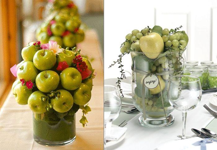 Centros de mesa de fruta para boda - Centros de mesa con limones ...