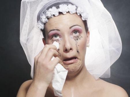 Que significa verte vestida de novia y llorando