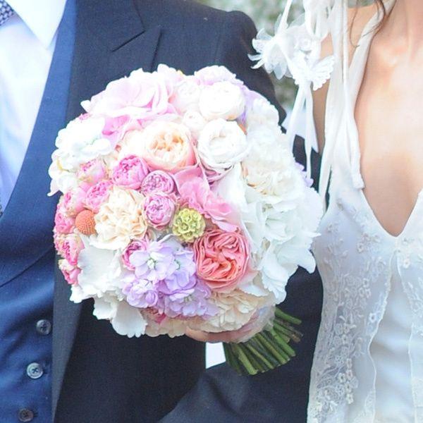 bouquet de novia colores pasteles