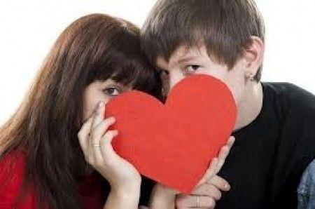 pareja tímida