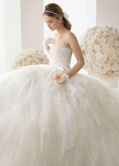 9c2f04025f Los 5 vestidos de novia más votados de Facebook