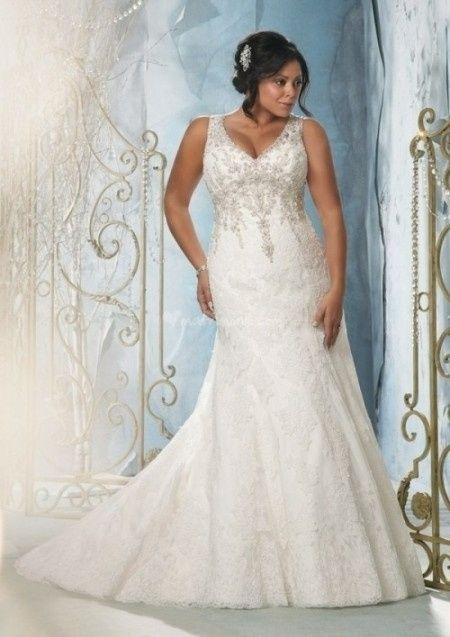 vestidos mori lee tallas grandes! para novias llenitas :)
