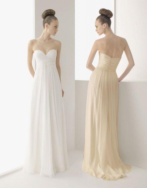 vestido para novia bajita