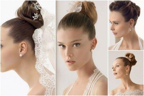 peinado para novias bajitas