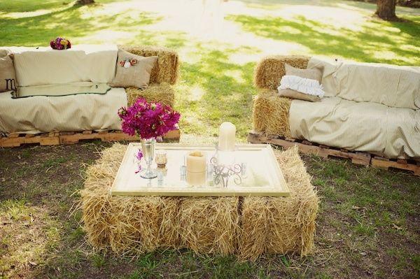 zona lounge para matrimonio campestre