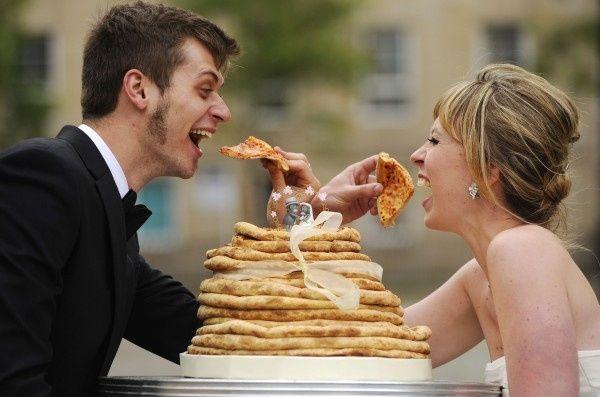 torta de matrimonio original