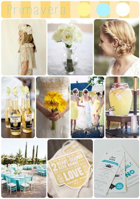 colores de boda en primavera
