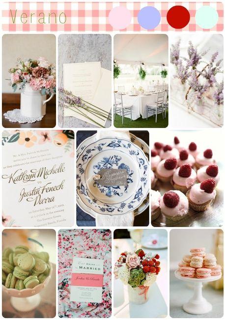 colores boda en verano