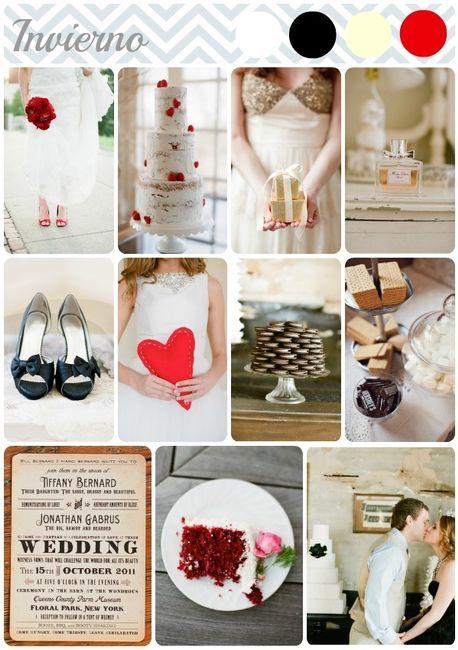 colores para boda en invierno