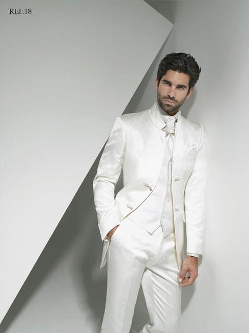 Colores del terno de novio seg n el tipo de matrimonio for Trajes de novio blanco para boda