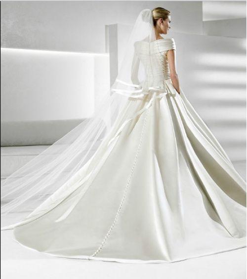 cómo elegir el largo de tu velo de novia?