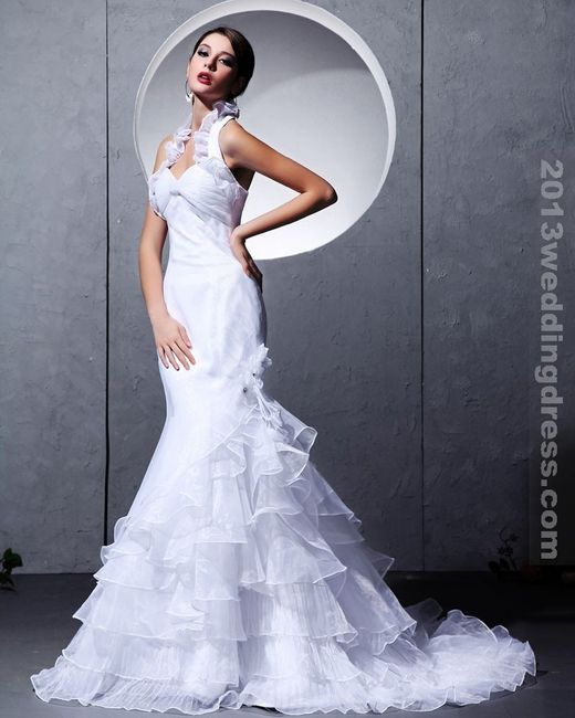 Excepcional Vestidos De Novia De Cuello Halter Ideas Ornamento ...