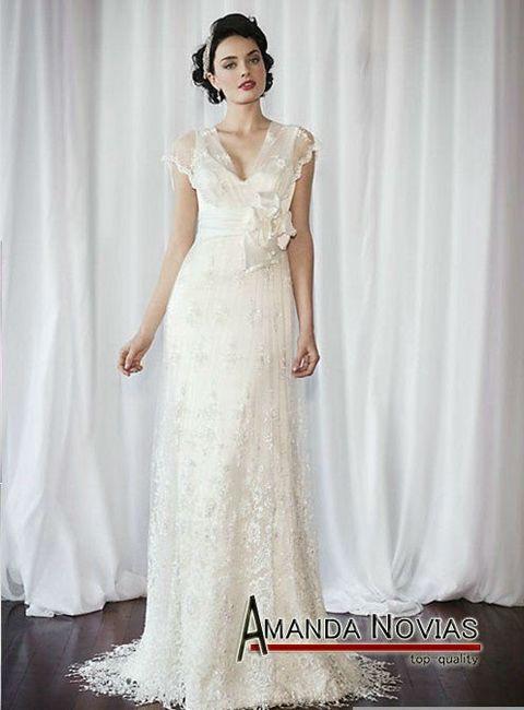 vestidos de novia vintage con encajes!!