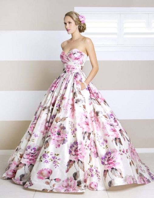 e6fca1d06 Vestidos de damas floreados