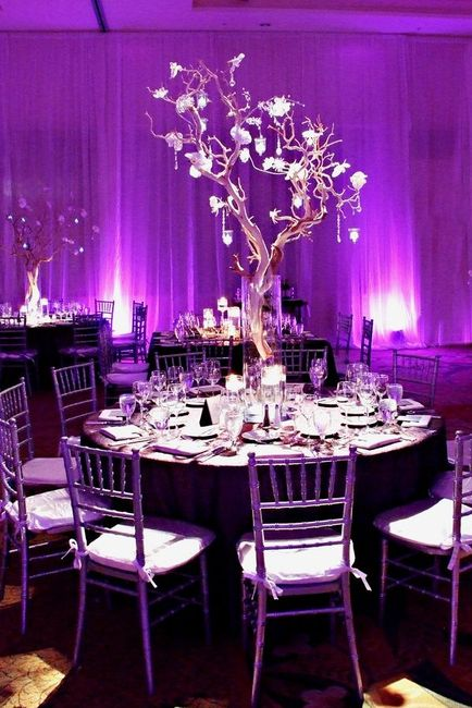 tu boda en lila y morado!
