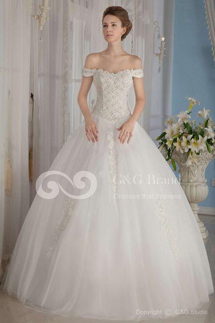 Vestidos de niрів±a corte princesa