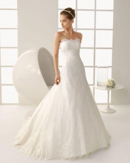 Como hacer un vestido de novia strapless