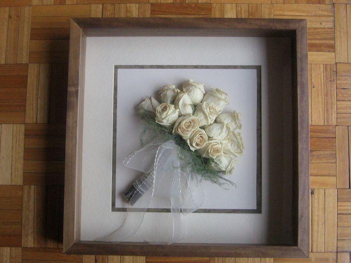 conservar bouquet de novia