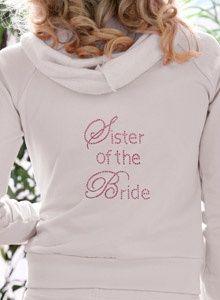detalles para hermana de la novia, la hermana de la novia