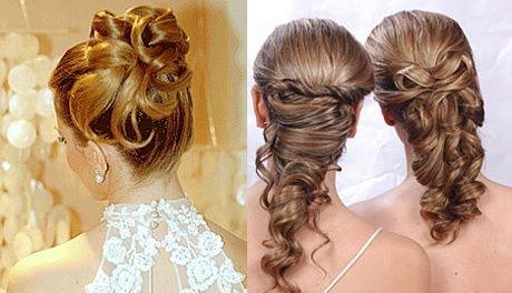 Peinados para novias poco pelo