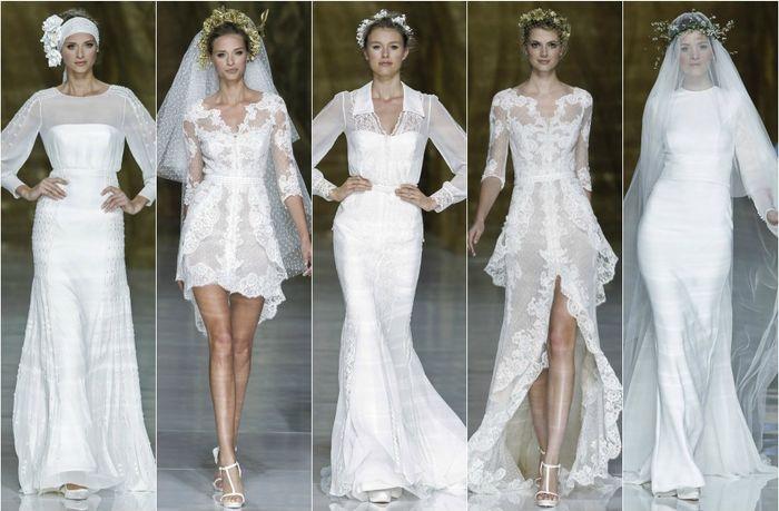 Vestidos de novia hombros anchos
